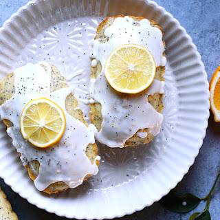 Meyer Lemon Poppy Seed Loaf Cakes
