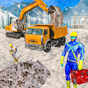 Grand City Construction Excavator Game icon