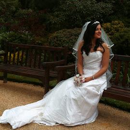 Jo by Gordon Drummond - Wedding Bride ( training, bench, dress, wedding, beauty, bride )