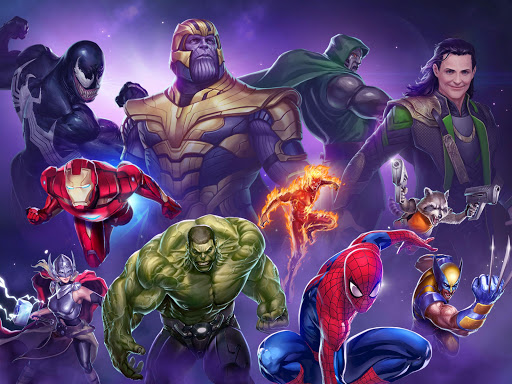 MARVEL Puzzle Quest: Join the Super Hero Battle! screenshot 9