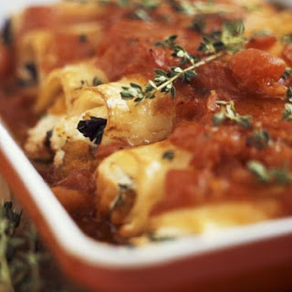 Filled Pasta Tube Bake Recipe