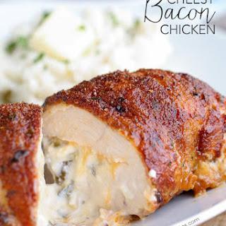 Cheesy Bacon Chicken.