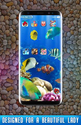 Fish Live Wallpaper 3D Aquarium Background HD 2018 1.3 screenshots 2