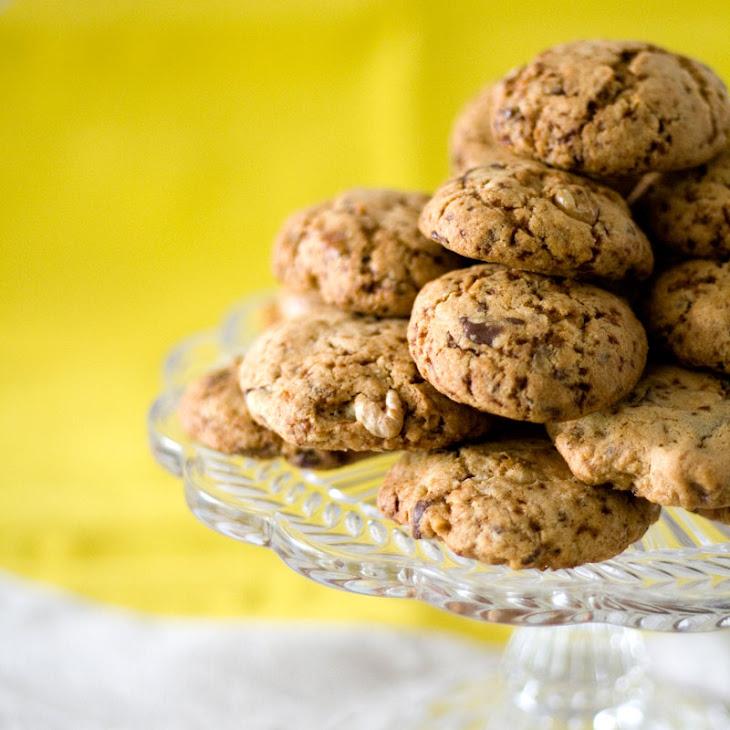 Dark Chocolate Chunk + Macadamia Cookies