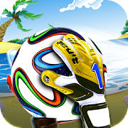 Football Beach Soccer Goalkeeper Goaly Soccer Game