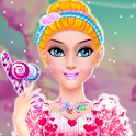 🍭 Candy 👸 Princess 💅 Makeup 💇 Salon icon
