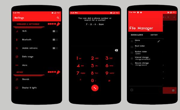 Cm Launcher 3d Theme Wallpaper Apk Notesui Dark Cm13 Theme V 1 0 Apk Full Android Apps
