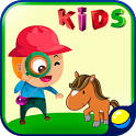 Learning Animal Sounds for Kids, Toddlers, Babies icon
