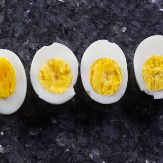 Perfect Hard Boiled Eggs.