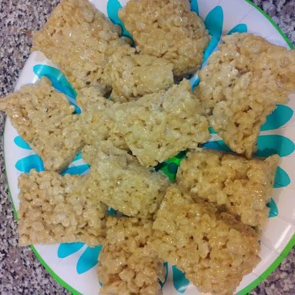 Coconut Rice Krispies Treat Bars Recipe