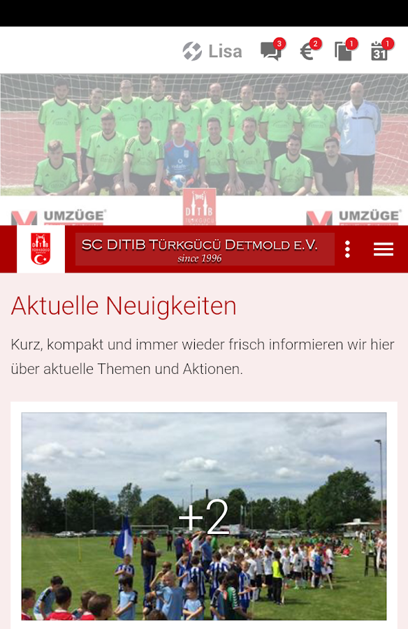 SC DITIB Detmold- screenshot