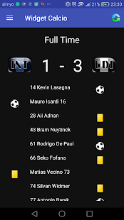 Widget Serie A 2017/18 - náhled