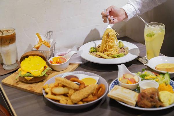 翁林林Café|不限時|義大利麵|新埔捷運站|