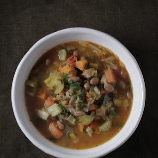 A simple Garden Vegetable Soup.