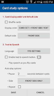 Flashcards Buddy Pro- screenshot thumbnail