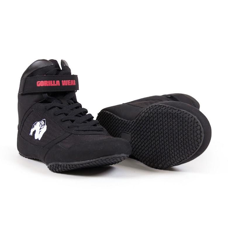 Gorilla Wear High Tops, Black