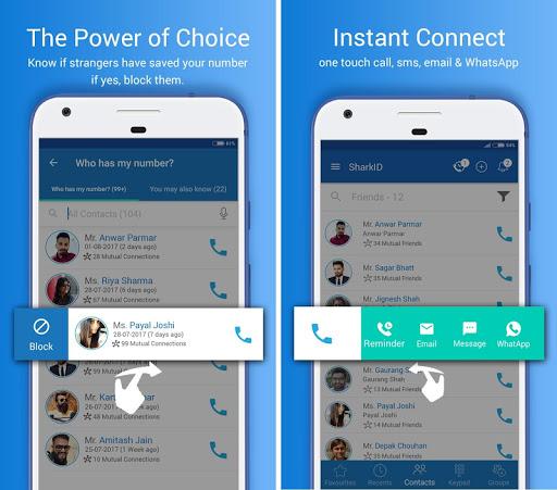 Shark ID - Smart Calling app, Phonebook, Caller ID 2.9.1 screenshots n 2