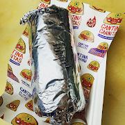 Red Pepper & Halloumi Burrito