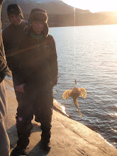 Photo: Greenland - Fishing at the end of Day 7 - it's a Shorthorn Sculpin