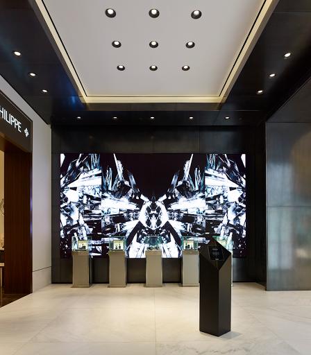 Marco Brambilla installation Crystal Observatory at Hudson Yards