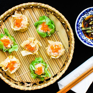 Pork and Shrimp Siu Mai (Steamed Chinese Dumplings) Recipe