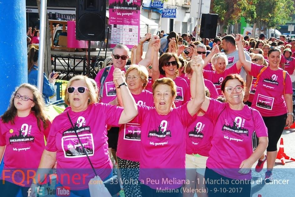 33 Volta a Peu Meliana 2017 y 1ª Marcha solidaria contra el cáncer