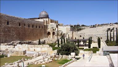 Photo: Иерусалим. Еще правее от Стены плача.