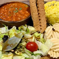 3 idiots toast & curry 三個傻瓜印度蔬食