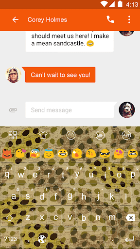 Cheetah -Video Emoji Keyboard