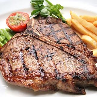 Spicy T-Bone Steaks