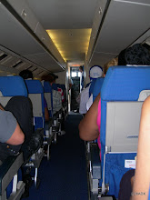 Photo: Interior del avion Fokker 50
