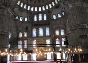 Photo: Day 110 - Some of the Windows in the Blue Mosque