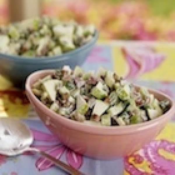 Apple, Pear, Grape Salad - Diabetic Friendly & Low Carb.