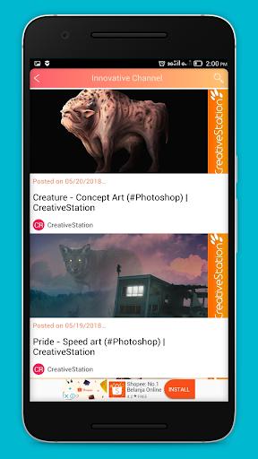 Creative and Innovative Channels 1.0 screenshots 8