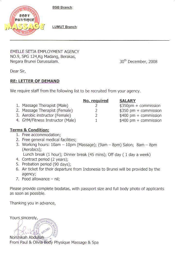 Agency Resmi Pjtki Tki Ke Brunei