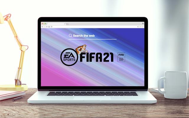 FIFA 21 New Tab Game Theme