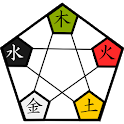 和鍼灸院式五行色体表 icon