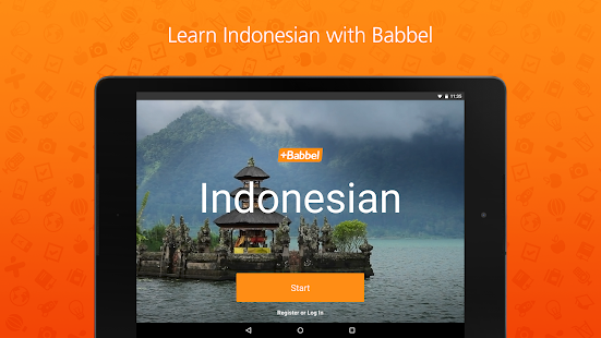 Learn Indonesian with Babbel- screenshot thumbnail