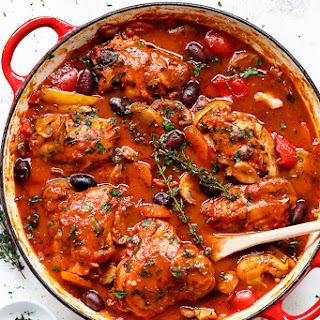 Chicken Cacciatore Sauce Recipes