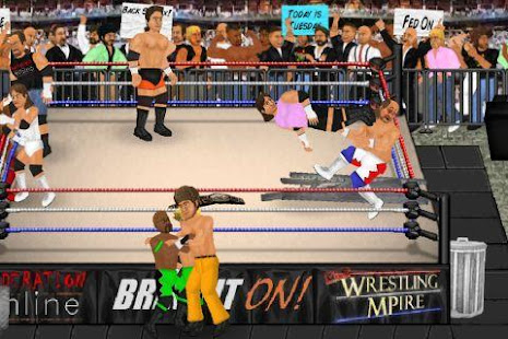 Wrestling Revolution 2.040 APK + Mod (Free purchase) untuk android