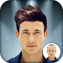 Men Hairstyle Montage Maker icon