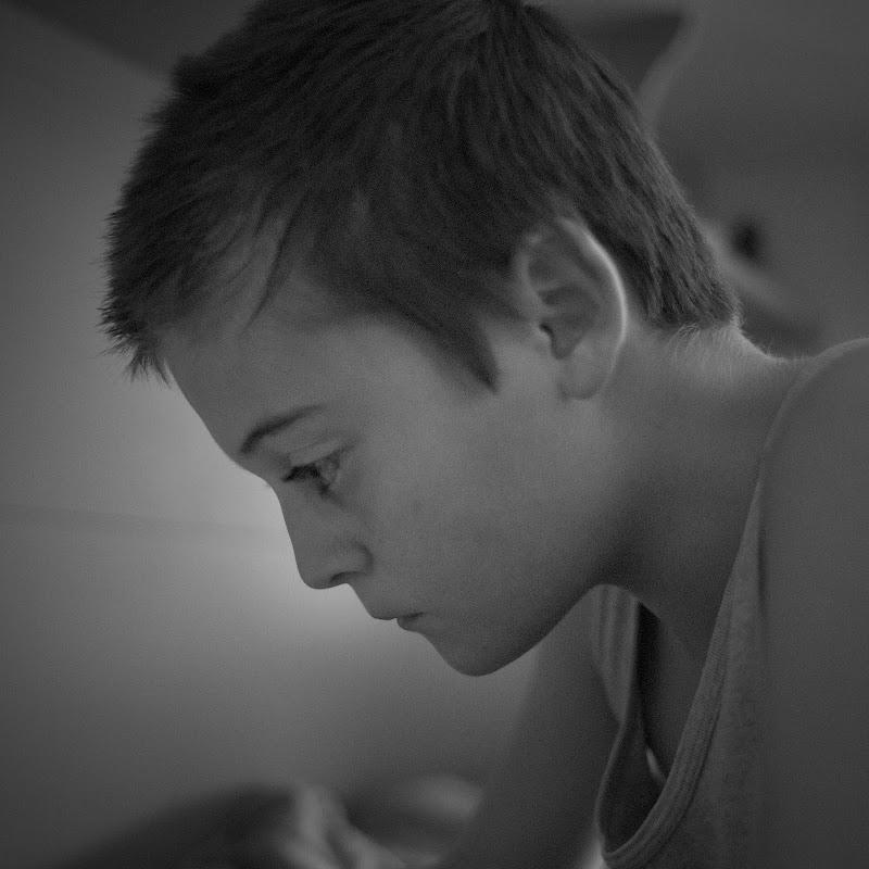 Concentrazione in bianco e nero di francesca_pilato