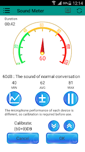 App Sound meter | Noise detector | Decibel detection APK for Windows Phone