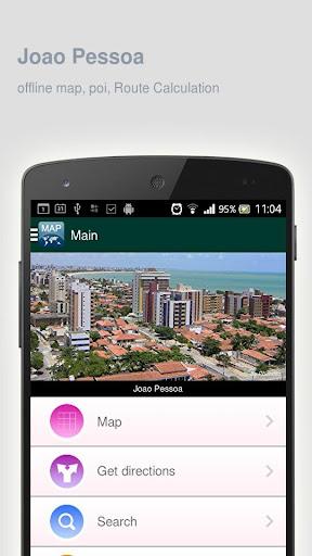 Joao Pessoa Map offline