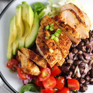 Chipotle Chicken Salad with Pico de Gallo