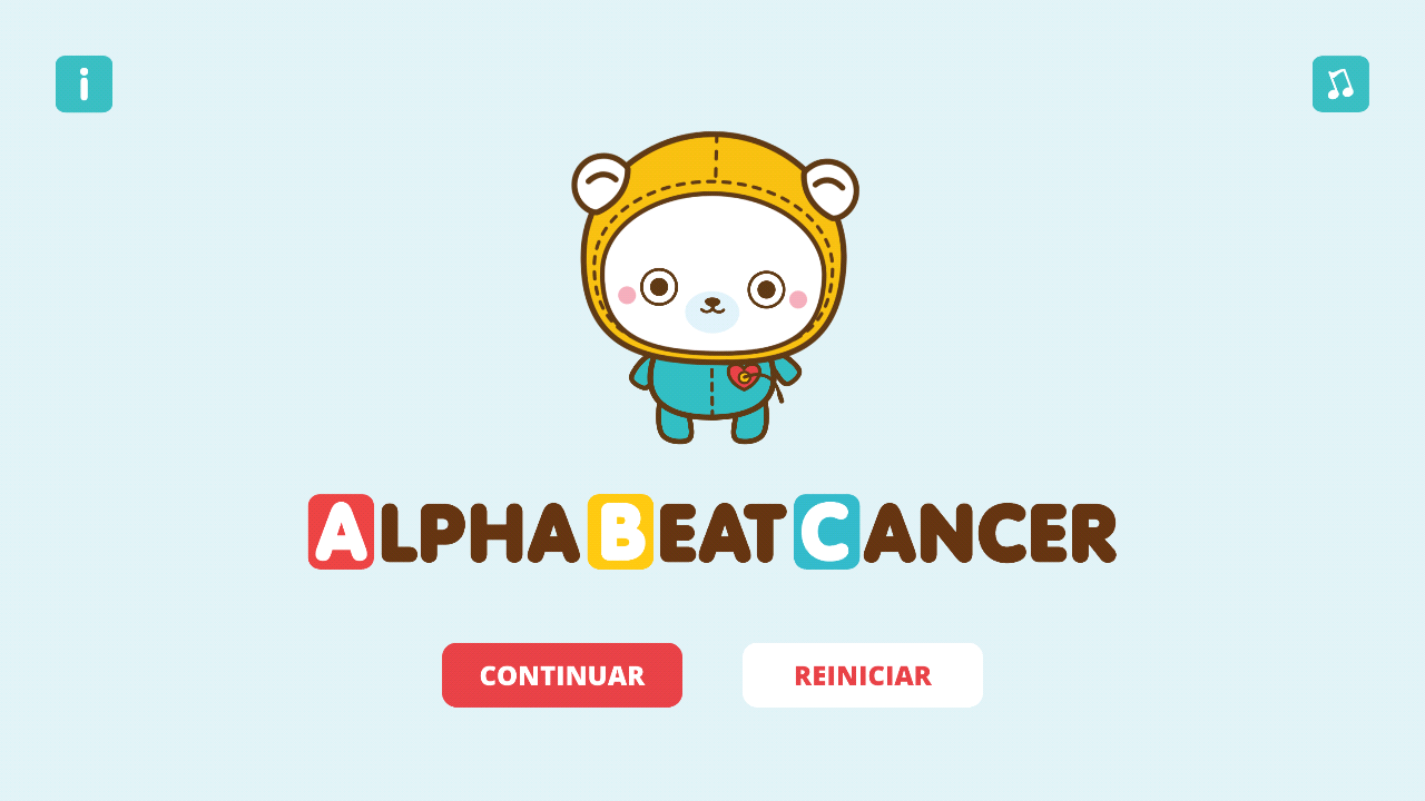 AlphaBeatCancer: captura de pantalla