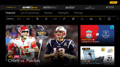 NBC Sports 1.0 screenshots 1