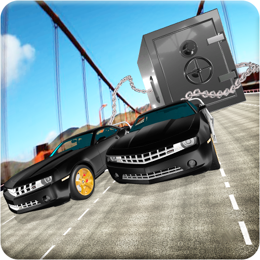 Chained Car Racing Robbery Crime City Simulator