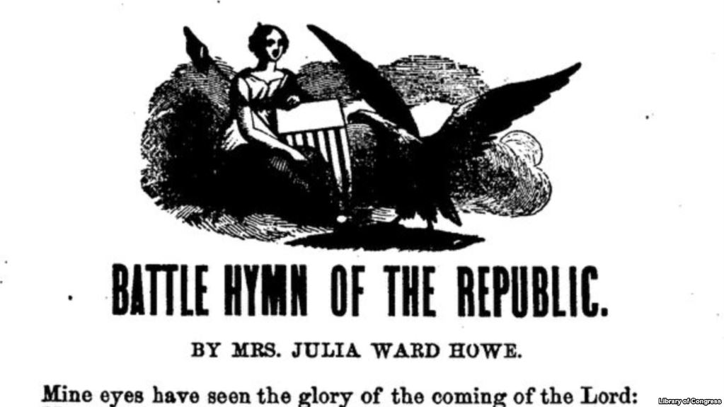 Billedresultat for battle hymn of the republic