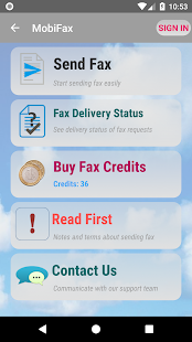 MobiFax - Quickly Send Fax- screenshot thumbnail
